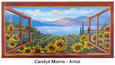 2016 Hidden Gems of Lake County Garden Tour - Carolyn Morris - Artist
